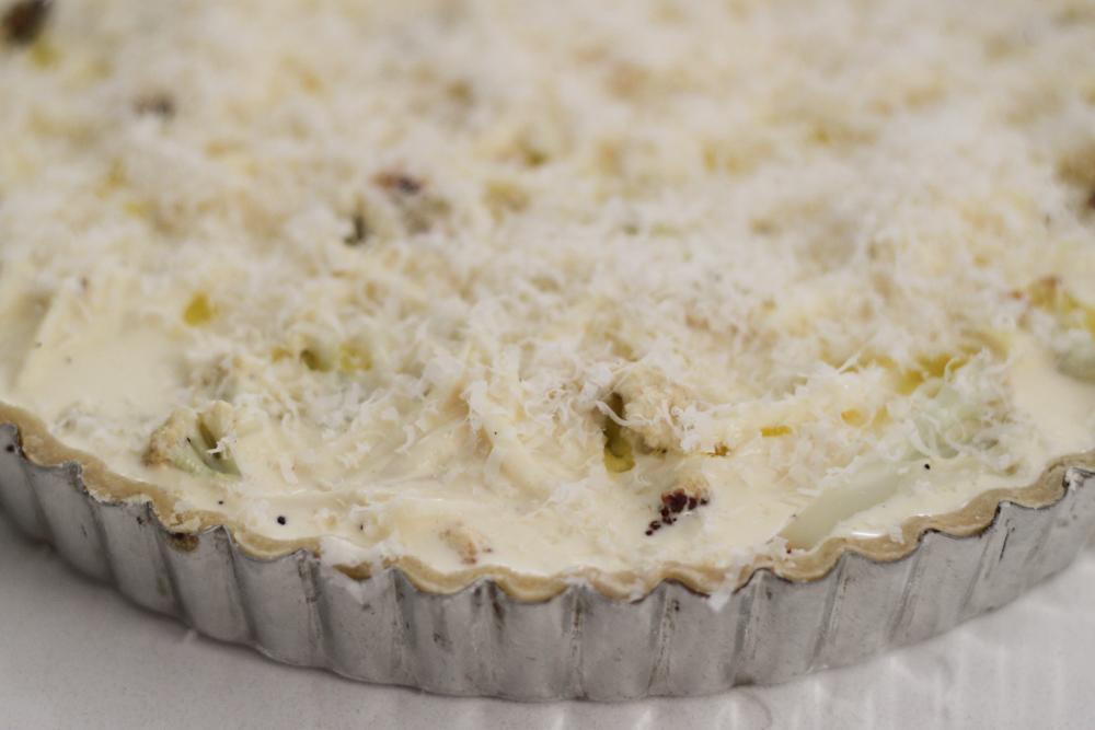 Cauliflower And Caramelized Onion Tart Recipes — Dishmaps