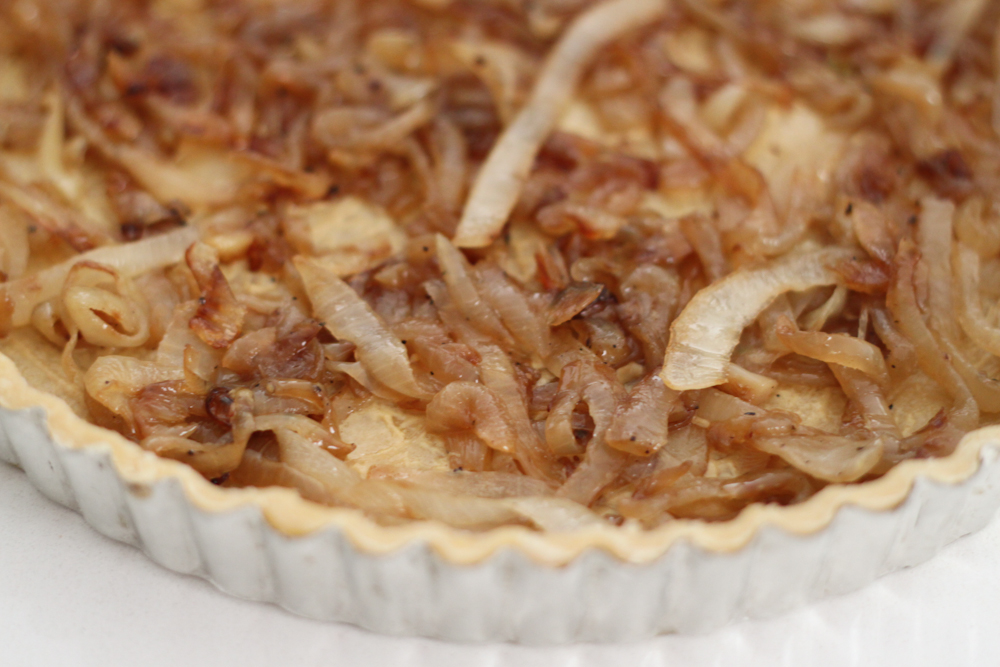 Caramelized Onion & Roasted Cauliflower Tart | Mission Delectable